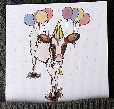 Celebration calf